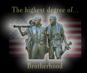 Brotherhood, the highest degree of honor